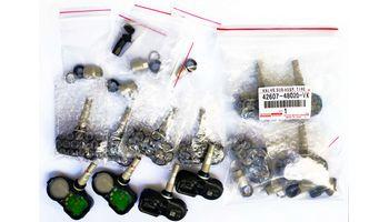 Оригинальный комплект датчиков шин Тойота Лексус 42607-F4020-VK, 42607-48020-VK