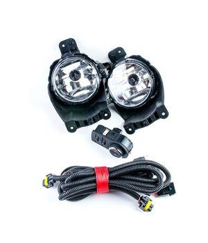 Комплект птф с универсальной проводкой и штатной кнопкой для Шевроле Кобальт