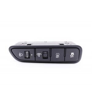 Новый блок кнопок с корректором фар Kia Rio  93700-H0100-WK