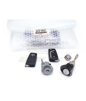 Комплект ключей и личинок Toyota RAV4 2019  897040R220