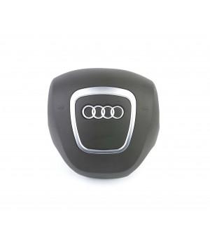 Крышка подушки безопасности Audi 04-13гв серая