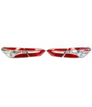 Комплект полностью светодиодных, максимальных фонарей Тойота Камри 70