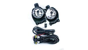 Комплект птф с универсальной проводкой и кнопкой для Шевроле Кобальт ( без прошивки )