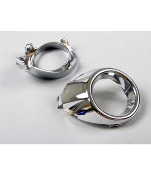 Хром кольцо противотуманных фар ( птф ) Форд Фокус 3