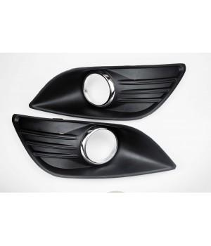 Решетки противотуманных фар ( птф ) Форд Фокус 2 рестайлинг