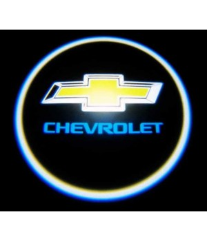 Подсветка дверей-логотип Chevrolet