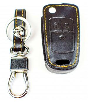 Кожаный чехол для ключа зажигания Шевроле